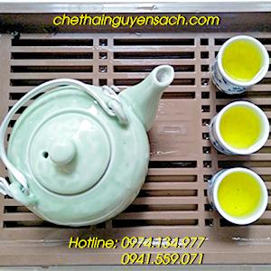 Chè nõn tôm loại 1 - Đại lý chè sạch Hương Trà Thái4